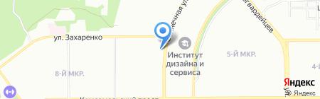 Живая капля на карте Челябинска