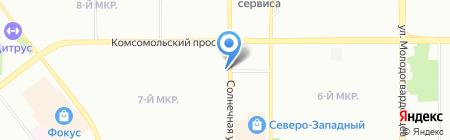 Фотосалон на карте Челябинска