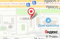 Схема проезда до компании Казна в Челябинске