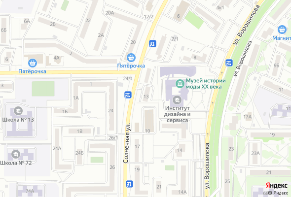 купить квартиру в ЖК по ул. Солнечная