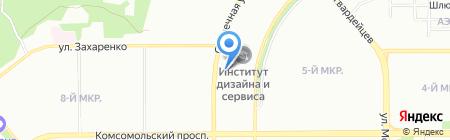 Бетон СК на карте Челябинска