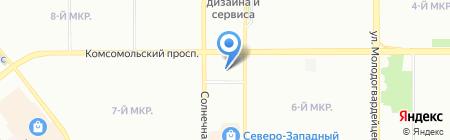 ТРИ ГРАЦИИ на карте Челябинска