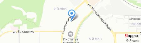 Аркаим на карте Челябинска