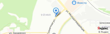 Светлана на карте Челябинска