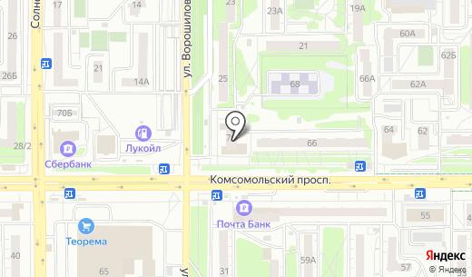 МДМ Банк. Схема проезда в Челябинске
