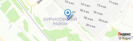 Банкомат ЮниКредит Банк на карте Челябинска