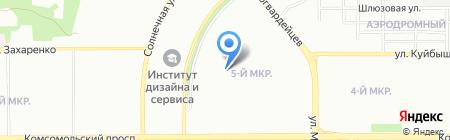 Детский сад №364 на карте Челябинска