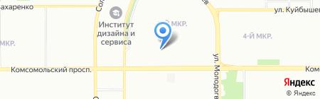 Кожно-венерологический диспансер №3 на карте Челябинска