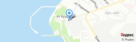 Вектор-Прогресс на карте Челябинска