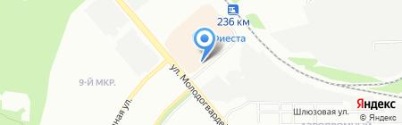 Артиком на карте Челябинска