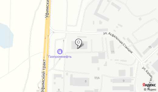 ФинТехСервис. Схема проезда в Челябинске