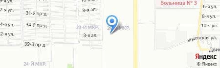 Средняя общеобразовательная школа №78 на карте Челябинска