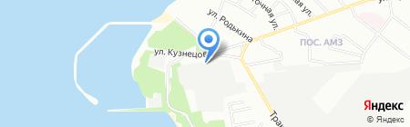 Урал-обои на карте Челябинска