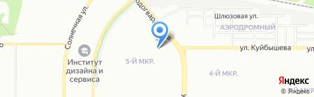 Волшебная ночь на карте Челябинска