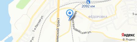 Мк-Сервис на карте Челябинска