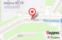 Схема проезда до компании ЮниПресс в Челябинске