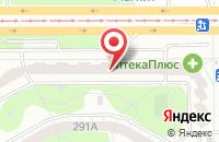 Схема проезда до компании Север в Челябинске