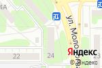 Схема проезда до компании 32 норма в Челябинске