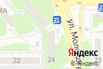 Схема проезда до компании Ваша пицца в Челябинске