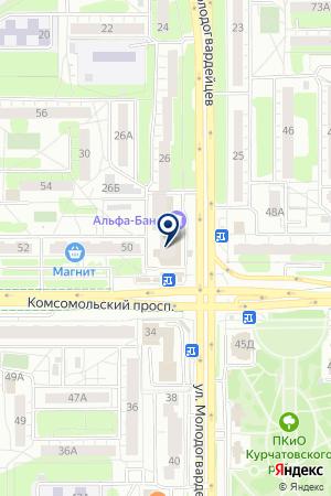 СТОМАТОЛОГИЧЕСКАЯ КЛИНИКА ДЕНТА на карте Челябинска