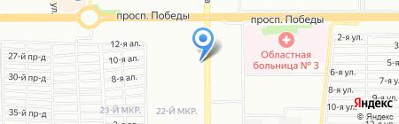Хакер на карте Челябинска