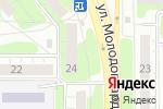Схема проезда до компании Сеть аптек в Челябинске