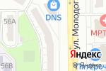 Схема проезда до компании Хакер в Челябинске