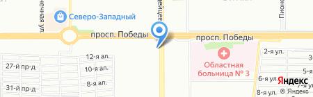 Софья на карте Челябинска