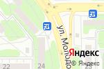 Схема проезда до компании Фруктовый рай в Челябинске
