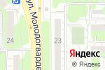 Схема проезда до компании ЗооДоктор в Челябинске