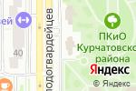 Схема проезда до компании ПиццаМания в Челябинске