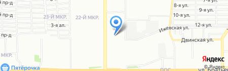 ЛПУ НИИ репродуктивной медицины им. Ю.С. Верлинского на карте Челябинска