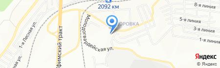 Детский сад №461 на карте Челябинска
