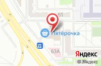 Схема проезда до компании Уральская Продовольственная Компания  в Челябинске