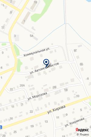 АЗС N 26 ЛУКОЙЛ на карте Еманжелинска