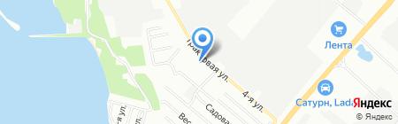 Планета игрушек на карте Челябинска