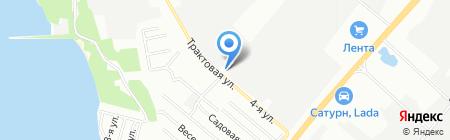 АВАНТЭН на карте Челябинска