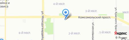 Библиотека №26 им. Л.К. Татьяничевой на карте Челябинска