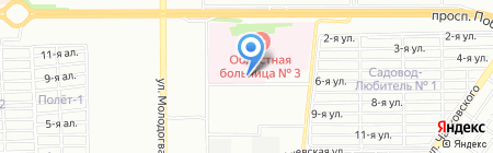 УралОнкоцентр на карте Челябинска