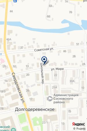 СРЕДНЯЯ ШКОЛА СЕЛА Б-БАЛАНДИНО на карте Долгодеревенского