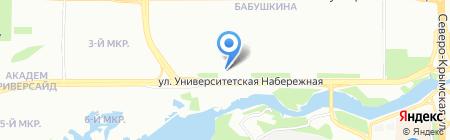 Ариант на карте Челябинска