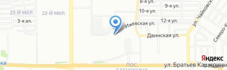 Челябинский похоронный дом на карте Челябинска
