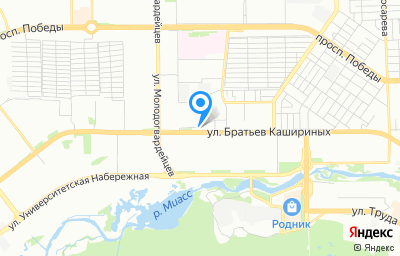 Местоположение на карте пункта техосмотра по адресу г Челябинск, ул Базовая 2-я, д 206