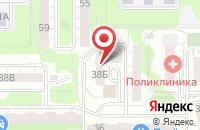 Схема проезда до компании Интерсвязь в Челябинске