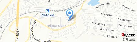 Золотая антилопа на карте Челябинска
