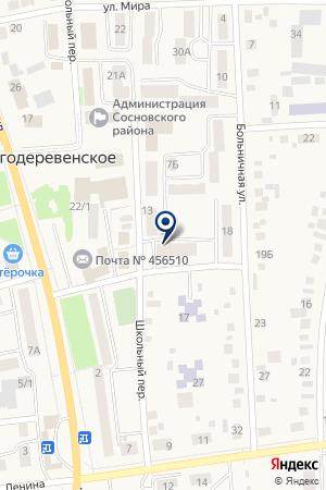 ДЕТСКАЯ ШКОЛА ИСКУССТВ РП.ПОЛЕТАЕВО на карте Долгодеревенского