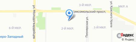 Хладон-Урал на карте Челябинска