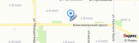 Магазин парфюмерии на карте Челябинска