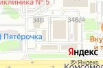 Схема проезда до компании Стекор в Челябинске