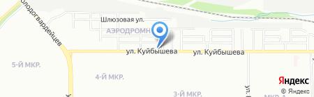 Благовестие на карте Челябинска